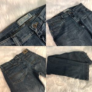 Wrangler Flex Relaxed Boot Jeans EUC